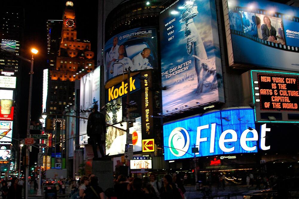 Time Square fandango by Wilson Wyatt  Photography