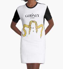 In Godney We Trust - Britney Spears - VMA's 2001 Slave version Graphic T-Shirt Dress