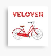 VeLover – Cruiser – June 12th – 200th Birthday of the Bicycle Canvas Print