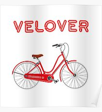 VeLover – Cruiser – June 12th – 200th Birthday of the Bicycle Poster