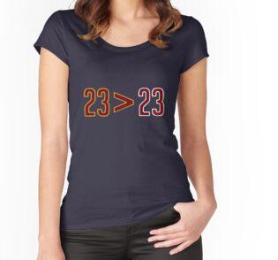 lebron merch. Women\u0027s Fitted Scoop T-Shirt Lebron Merch