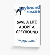 Save a Life Greeting Card