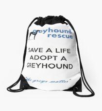 Save a Life Drawstring Bag