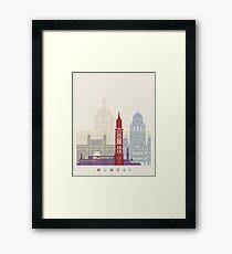 Mumbai skyline poster Framed Print  sc 1 st  Redbubble & Mumbai Skyline: Wall Art | Redbubble