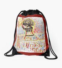 Write Woman Two Drawstring Bag
