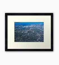 Aerial Photo-Sydney,Australia 2000 Framed Print