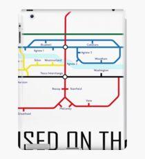 Newton Aycliffe - Born & Raised (Tube Style Map) - Burnhill iPad Case/Skin