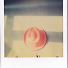 polaroid of red hat  by Jessica Sharmin
