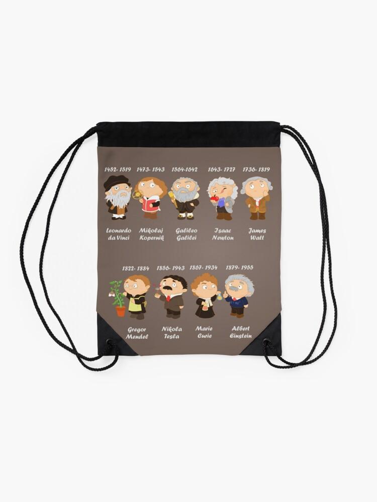 Alternate view of science  Drawstring Bag