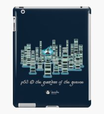p53, the guardian of the genome - ice iPad Case/Skin