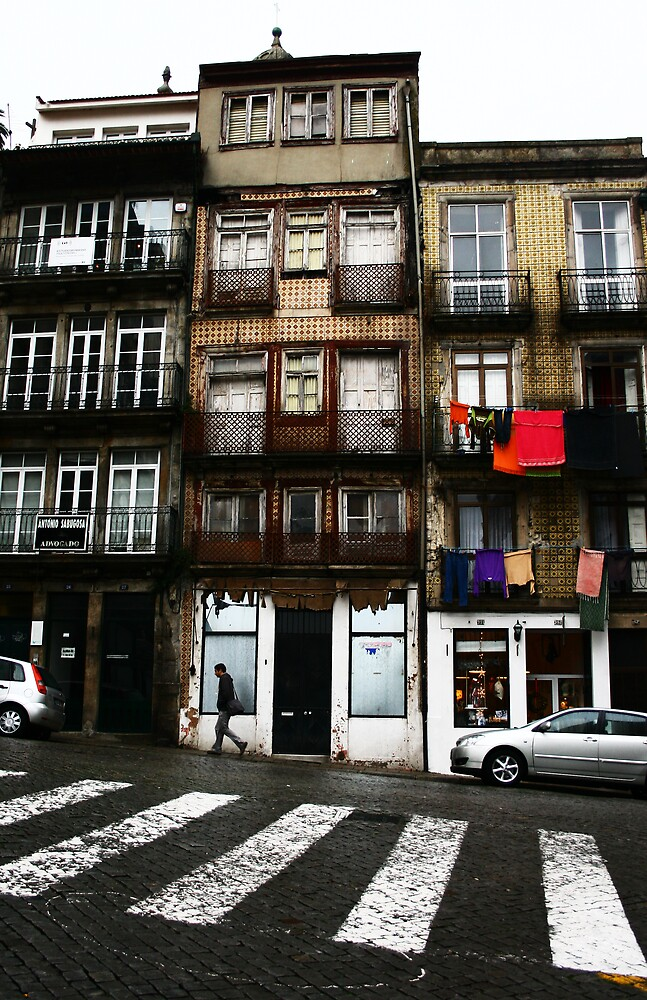 Rua do Belmonte, Porto by Simon Laird