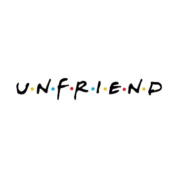 Unfriend by vectoria
