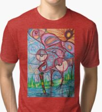 Drunken mosquito  Tri-blend T-Shirt
