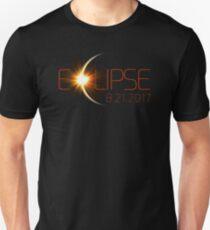 Solar Eclipse, Total Eclipse, Eclipse August 2017  Unisex T-Shirt