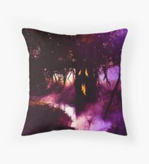 Father Tree in Where The Fairies Dwell Throw Pillow