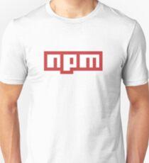 npm js JavaScript T-Shirt