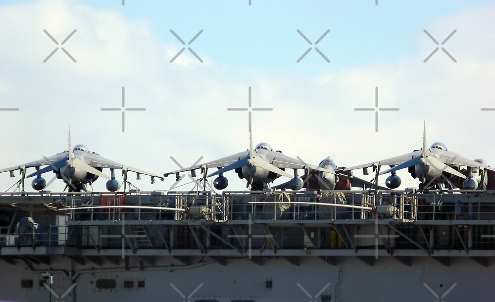 Jets on Deck by Sandra Chung