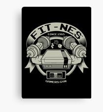 FIT-NES Canvas Print
