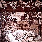 "Delta Dawn - Copper Plate Etching by Belinda ""BillyLee"" NYE (Printmaker)"