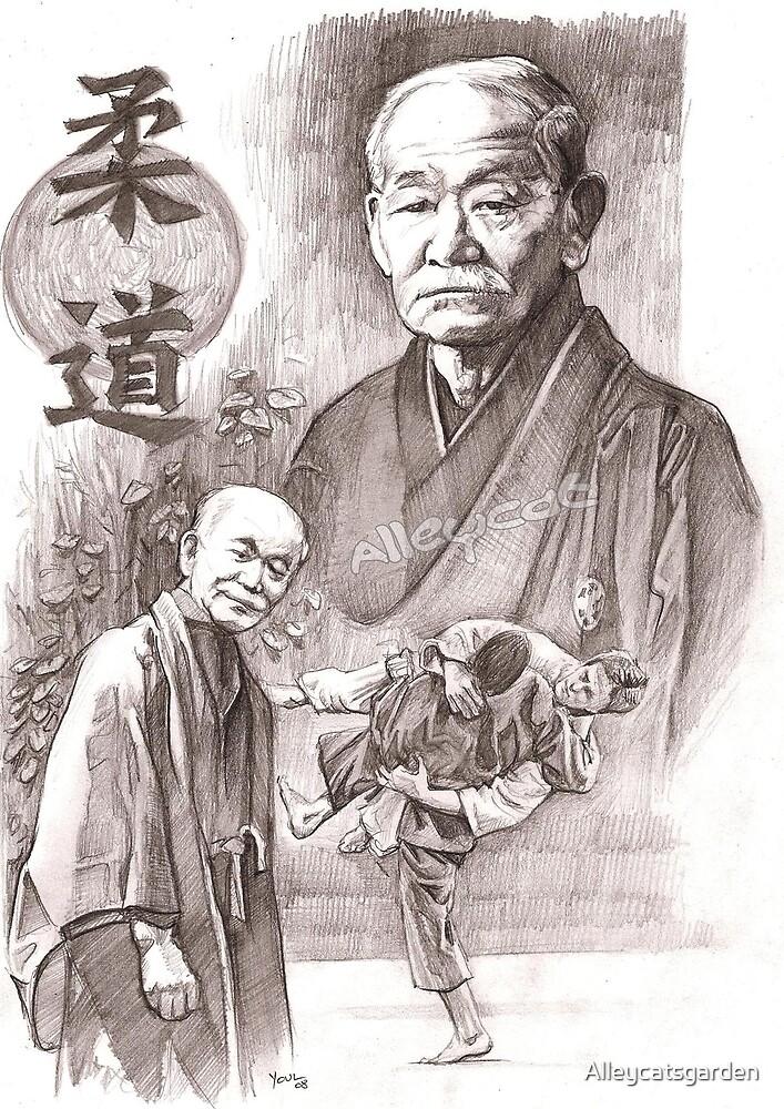 Jigoro Kano - Judo founder by Alleycatsgarden