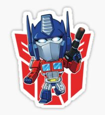 Optimus Prime Superdeformed Sticker