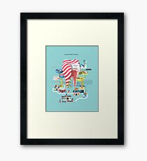 Your sweet tooth Framed Print