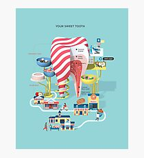 Your sweet tooth Photographic Print