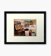 Studio at TAFE Framed Print