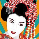 Japanese Geisha von WACHtraum