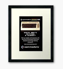 Commodore 64 Retro Computer Framed Print