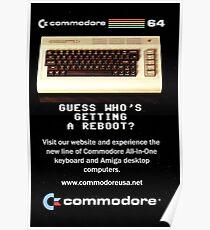 Commodore 64 Retro Computer Poster
