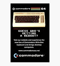 Commodore 64 Retro Computer Photographic Print