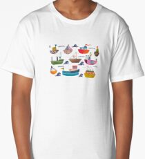 So many boats! Long T-Shirt