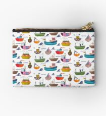 So many boats! Studio Pouch