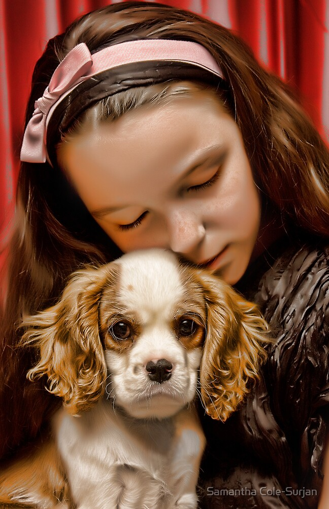 A girl and her dog (2) by Samantha Cole-Surjan