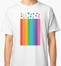 Gay LGBT Pride Lesbian Flag Rainbow Unity Gift Shirt For Men, Women, and Kids Classic T-Shirt
