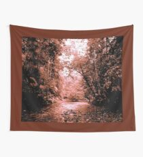 THE COPPER COLOURED CREEK Wall Tapestry