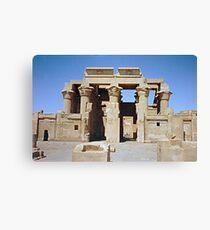 Temple of Edfu, no. 1 Canvas Print