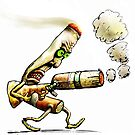 Cigarettes Can Kill by Tom Godfrey