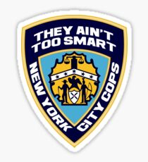 New York City Cops (The Strokes) Sticker