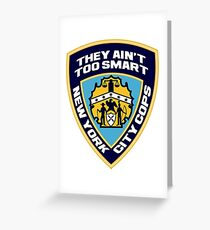 New York City Cops (The Strokes) Greeting Card