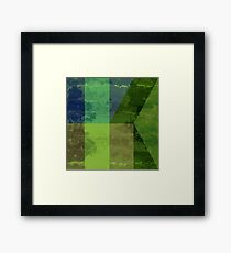 Abstract 1A Framed Print