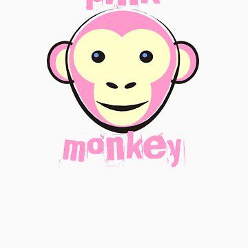 Pink monkey by jaroas