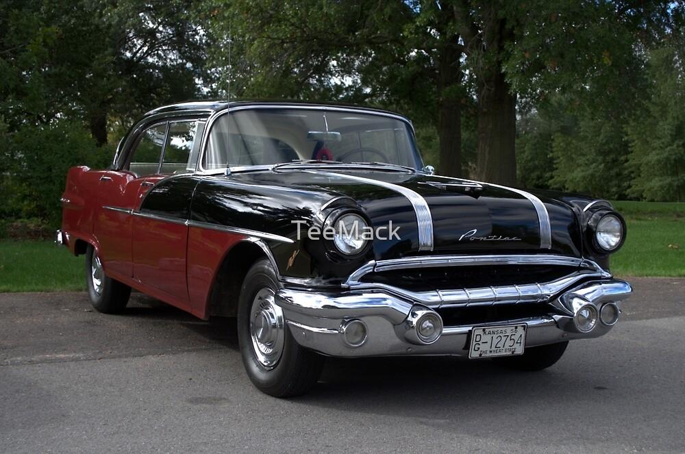 1956 pontiac chieftain 4 door sedan by teemack redbubble for 1955 pontiac chieftain 4 door
