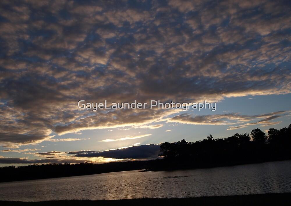 Kurwongba Sunset by GayeLaunder Photography
