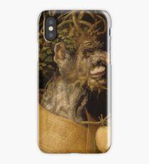 Winter 1563 Giuseppe Arcimboldo iPhone Case/Skin