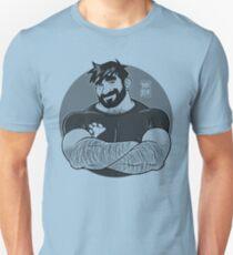 ADAM LIKES CROSSING ARMS - BLACK Unisex T-Shirt