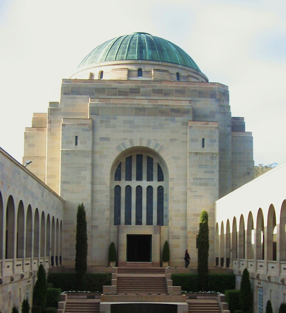 Canberra Memorial by Isabella Nolan