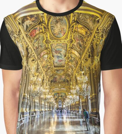 Opera House, Paris 5 Graphic T-Shirt