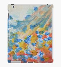 Pretty Pastel Abstract Oil Painting iPad Case/Skin